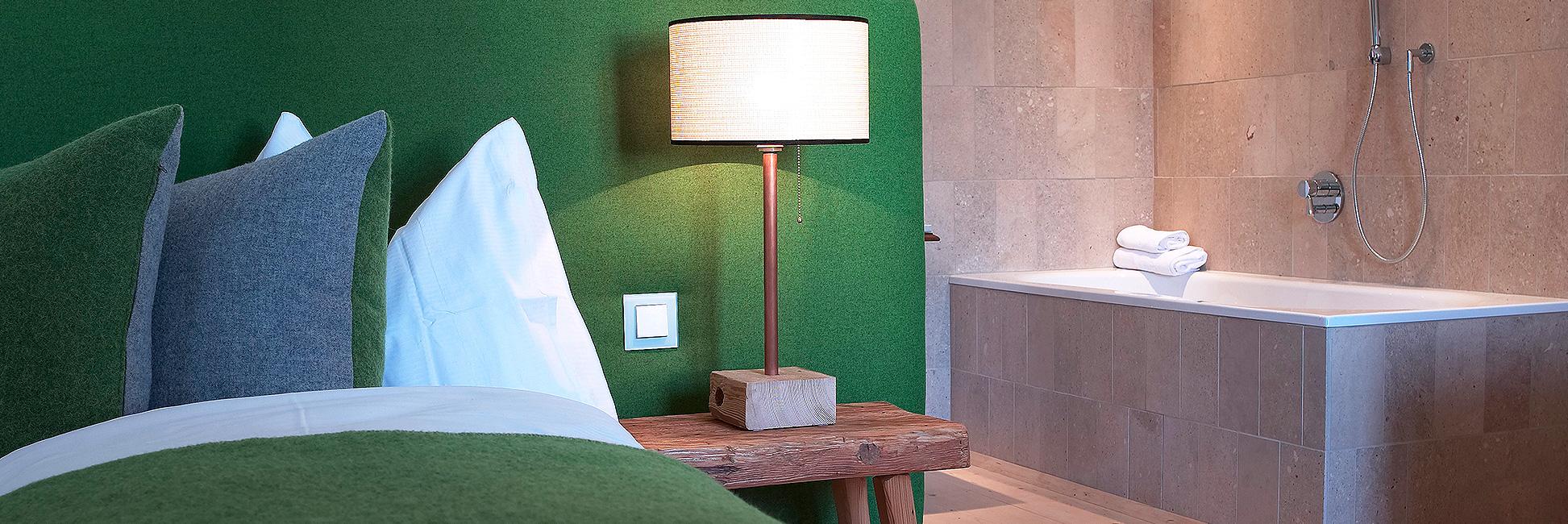 """Hotel Gasthof zur Post Zimmer Ambiente """"Post-Geschichten"""""""