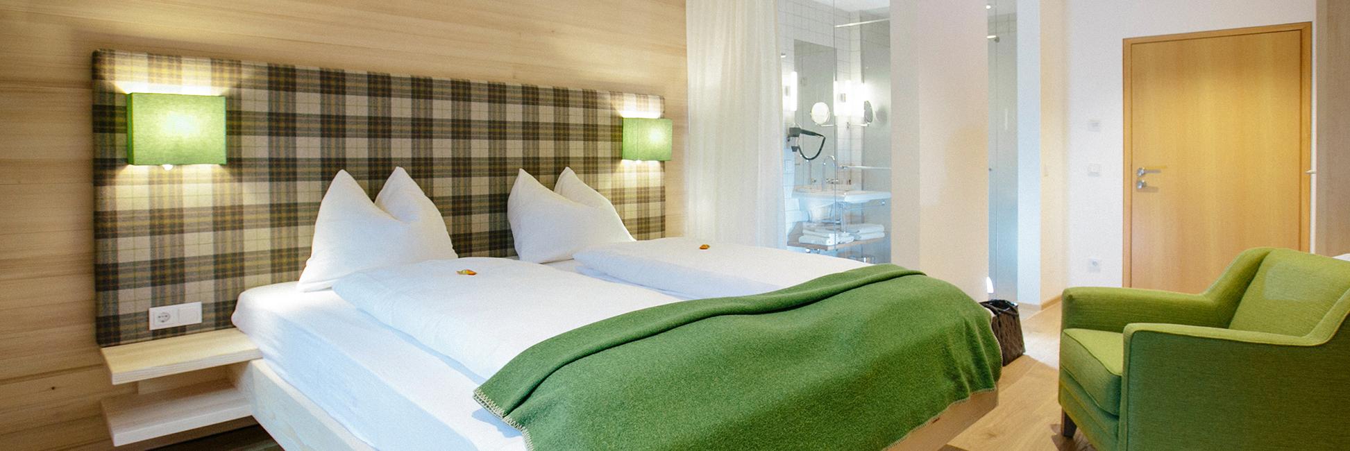 Hotel Gasthof zur Post Zimmer Ambiente Wolfgangsee