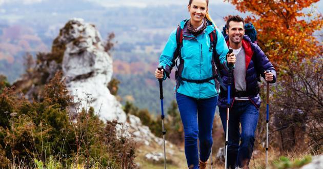 Wanderpaar in der Region Wolfgangsee