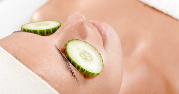Hotel Gasthof zur Post cucumber eye mask.
