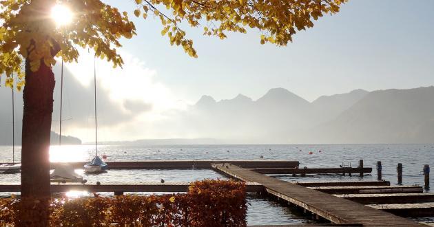 Hotel Gasthof zur Post Herbst Wolfgangsee