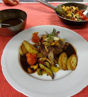 Filetsteak vom Almochsen