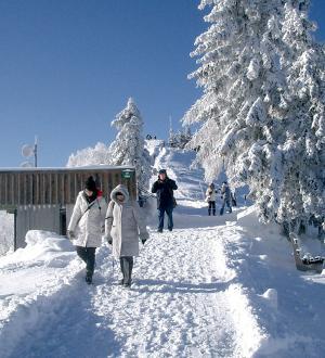 Hotel Gasthof zur Post Schneeschuwanderung Station
