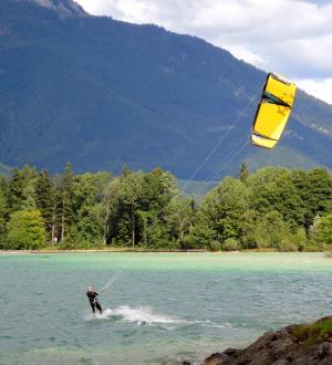 Hotel Gasthof zur Post Kite-Surfen Wolfgangsee