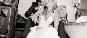 Hotel Gasthof zur Post wedding couple celebrate